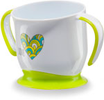 Кружка на присоске Happy Baby BABY CUP WITH SUCTION BASE 15022 LIME